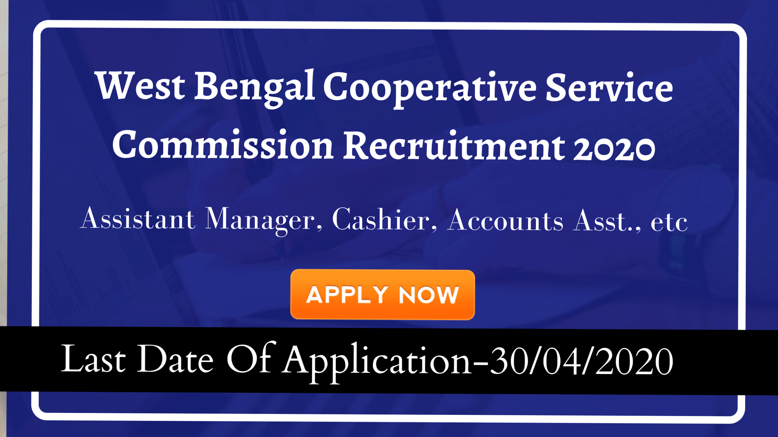 West Bengal Co-operative Service Commission Clerk