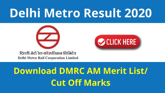 Delhi Metro Result 2020