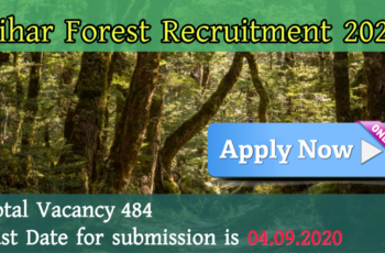 Bihar Forest Recruitment 2020