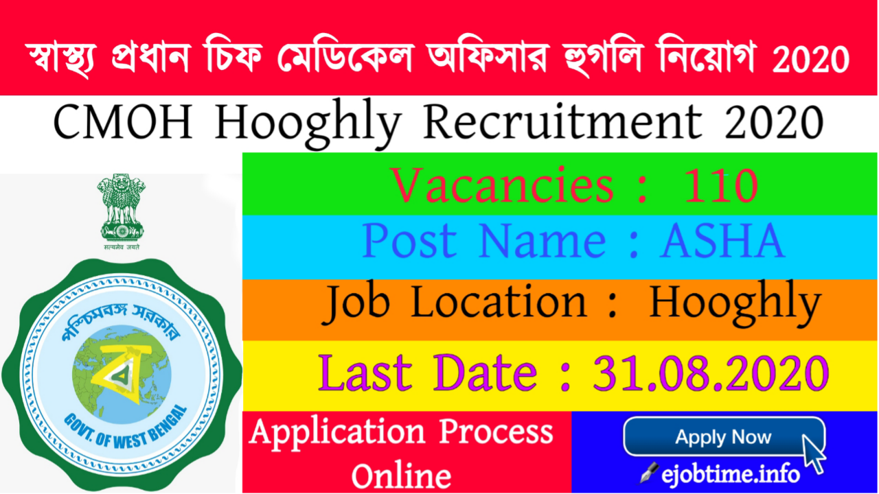 CMOH Hooghly Recruitment 2020