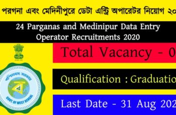 Data Entry Operator Recruitments 2020