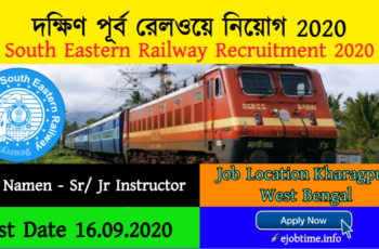 South Eastern Railway Recruitment 2020