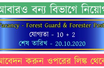 Chandigarh Forest Recruitment 2020