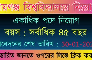 Raiganj University Recruitment 2021